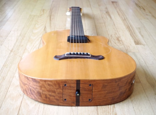 Wildcard Guitars Mimosa Hybrid Jazz Flattop Luthier Built Acoustic