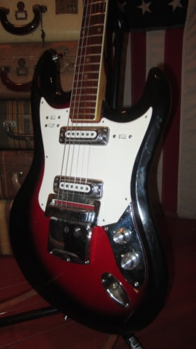 ~1969 Teisco Mayfair Solidbody Jazzmaster™ Copy Double Pickup