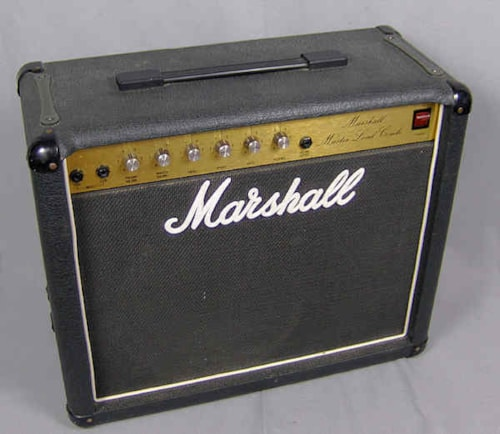 1983 Marshall Master lead 5010 solid state amp