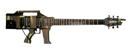 Glen Burton AR-15 rifle guitar