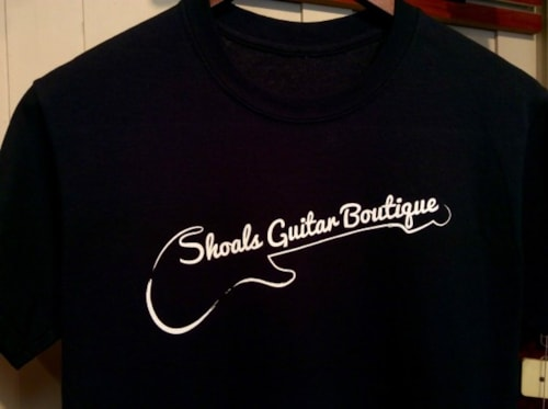 2016 Shoals Guitar Boutique T-Shirt / Tee Shirt