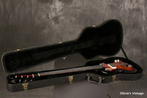 1965 Supro Violin Bass Solid