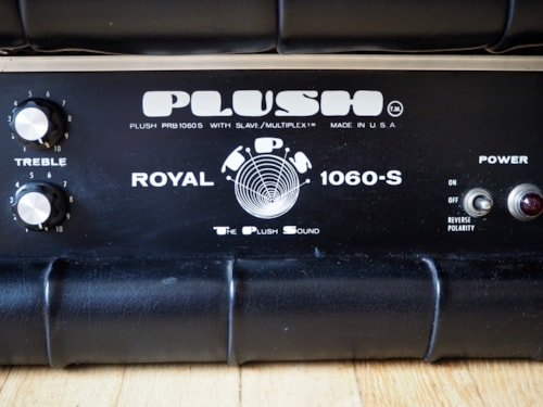 1970 Plush Amps Royal 1060-S Vintage Tube Electric Guitar Amp 100 Watt 6L6