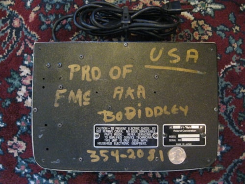 1976 BOSS Chorus Ensemble BO DIDDLEY Owned