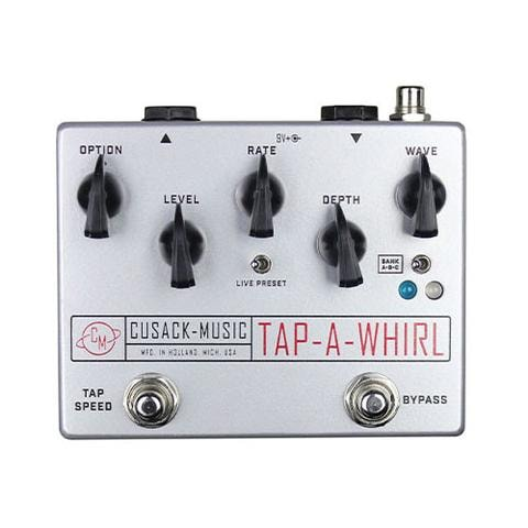 2016 Cusack Tap-A-Whirl Tremolo Pedal