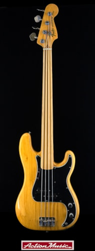 1977 Fender® Fretless Precision Bass®