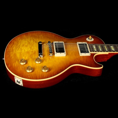 Gibson Custom Shop Used 2014 Gibson Custom Shop '59 Les Paul Gloss Electric Guitar Iced Tea