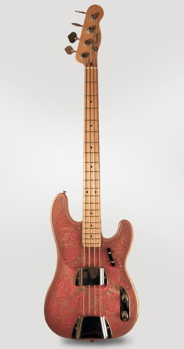 1968 Fender® Telecaster® Bass Pink Paisley