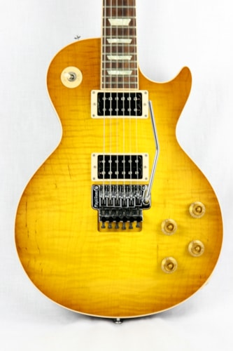 2011 Gibson Custom Shop Les Paul Axcess Flametop Standard Floyd Rose! Iced Tea Burst