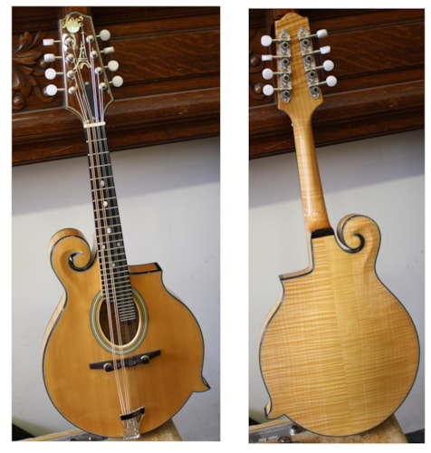 ~2010 Paris Swing Nuages Natural Mandolin