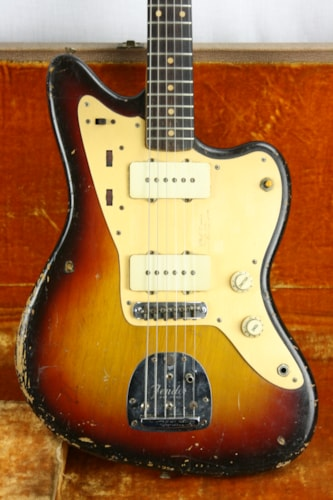 1959 Fender® Jazzmaster™ Slab-Board, Anodized Gold Guard! 1950's Pre-CBS!!