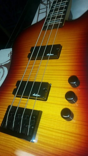 2014 Jackson (out of production) Kellybird bass