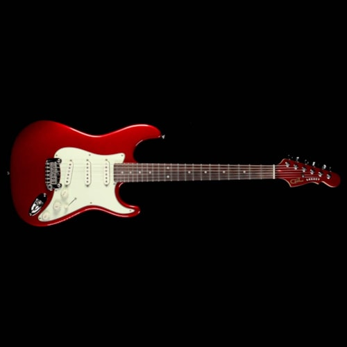 2009 G&L Used 2009 G&L Legacy Electric Guitar Candy Apple Red
