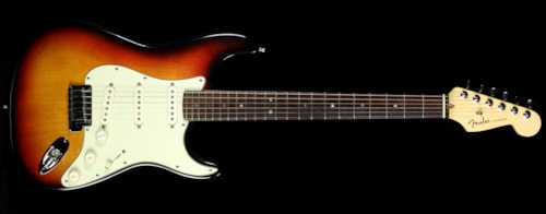 Fender® Used 1999 Fender® American Deluxe Stratocaster® Electric Guitar Three-Tone Sunburst