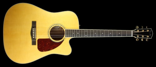 Fender® Custom Shop Used Fender® Custom Shop TPDCE-1 Dreadnought Acoustic Guitar Natural