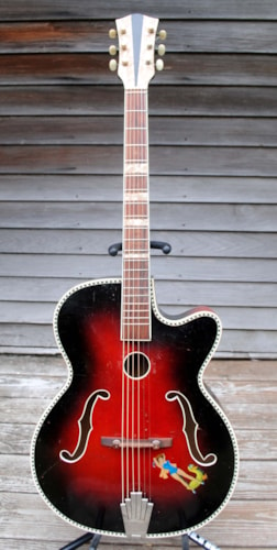 ~1958 Wolfgang Huttl archtop acoustic