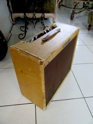 1957 Fender Tremolux Tweed Amp