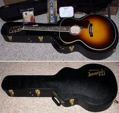 2016 Gibson J-185 Quilt Vine Limited