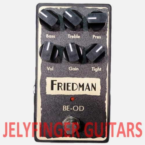 Friedman Amplification BE-OD Overdrive Pedal - SOLD OUT