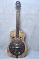 "2010 Weber Resonator Bandit Squareneck ""Black Ice"""