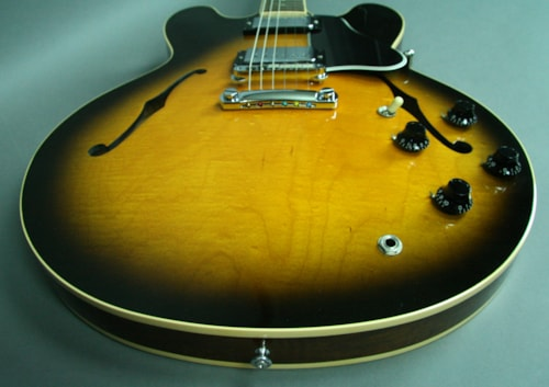 1994 Gibson ES-335 Dot Neck Reissue Sunburst Electric Guitar USA w/OHSC