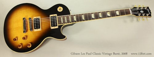 2008 Gibson Les Paul Classic