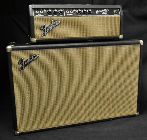 Fender® 1965 Fender® Bassman® Head and Cab