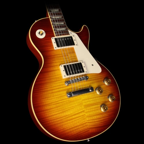 Gibson Used 2009 Gibson Custom Shop 1959 Les Paul Reissue 50th Anniversary Electric Guitar Cherry Sunburst