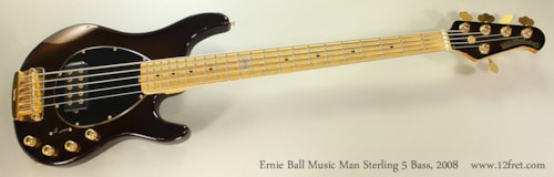 2008 ERNIE BALL MUSIC MAN Sterling 5 Bass