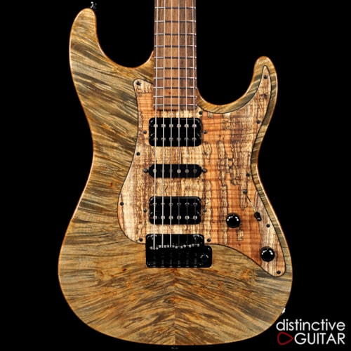 Suhr Standard Custom Waterfall Burl