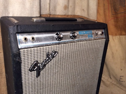 ~1978 Fender® Musicmaster™ Bass Tube Amplifier