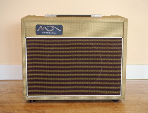 Michael Dolsey Designs Superblues AT-15 Tube Amplifier Tweed w/ Reverb & Tremolo