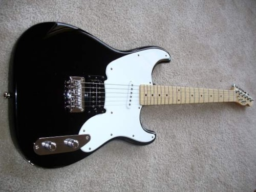 2012 Fender® Squier® 51 Black