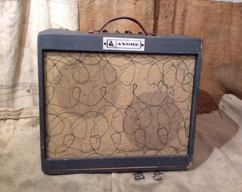 1971 Andre SS-1 Solid-State Guitar Amplifier