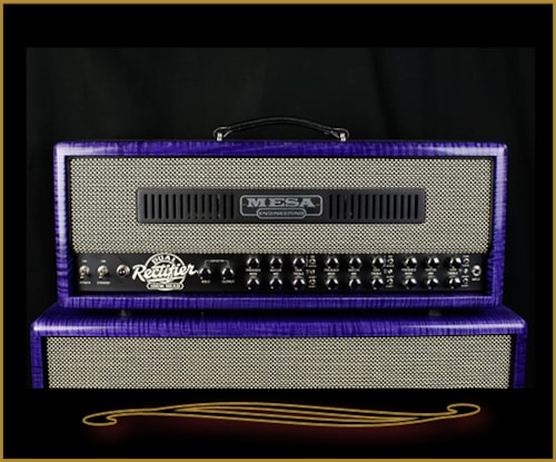 2016 Mesa Boogie Private Reserve Dual Rectifier Head and 2x12 Cabinet