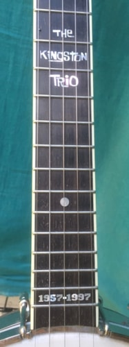 1997 Vega Kingston Trio 40th Anniversary ex-long Tubaphone