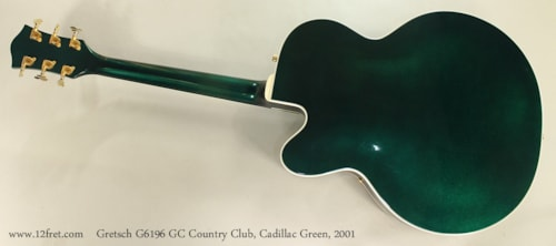 2001 Gretsch G6196GC Country Club