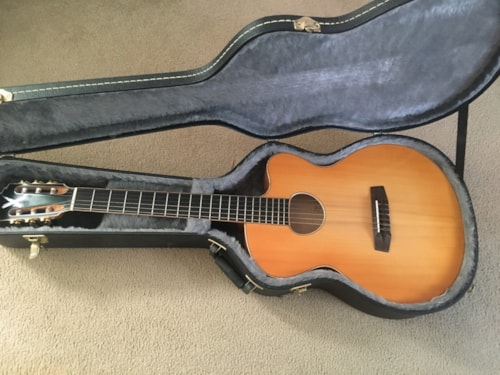 2010 Borys B520 Jazz Classic Acoustic Electric Nylon String