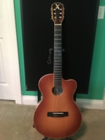 2005 Borys B520 Jazz Classic Acoustic Electric Nylon String