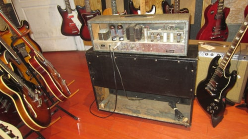 ~1964 Silvertone Twin Twelve Piggy Back Amp