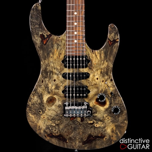 Suhr Custom Modern Set Neck Buckeye Burl