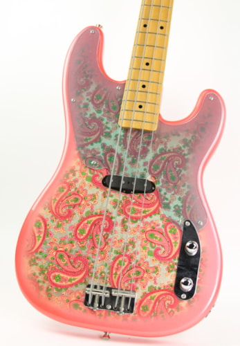 2002 Fender® '54 RI Pink Paisley Precision Bass®