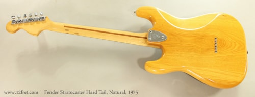 1975 Fender® Stratocaster® Hard Tail