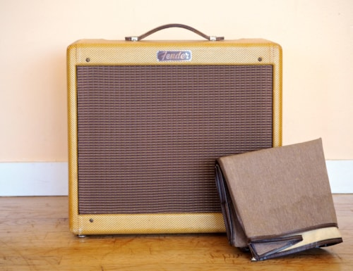 1957 Fender® Princeton® Narrow Panel Tweed Vintage Amp 100% Original