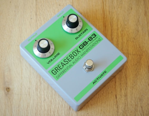 D*A*M Greasebox GB-83 Silicone Fuzz Boutique Guitar Effect Pedal