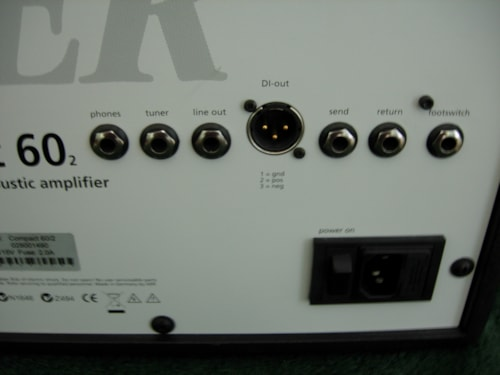 2012 AER (Acoustic Electronic Research) Compact 60 / 2