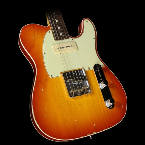 Fender Custom Shop Used Steve Miller Collection Fender Custom Shop Masterbuilt Jason Smith Wildwood 10 '59 Telecaster Relic Electric Guitar Aged Cherry Burst