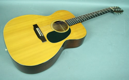 1971 Martin Vintage Martin 000-18 Mahogany Acoustic Flattop Guitar W/OHS