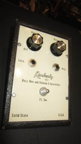 ~1961 Kimberly Buzz Box and Volume Expander Fuzz Pedal