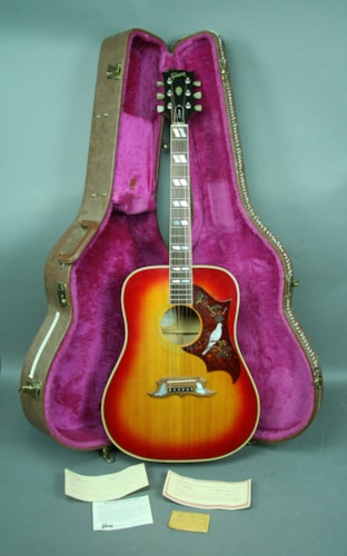 Gibson Vintage Dove Acoustic Guitar Cherry Sunburst Dreadnaught USA